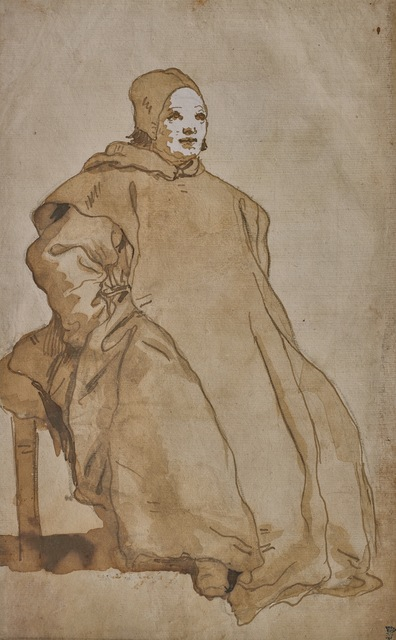 , 'A Cleric, Probably a Benedictine Monk,' 1751-1754, Didier Aaron