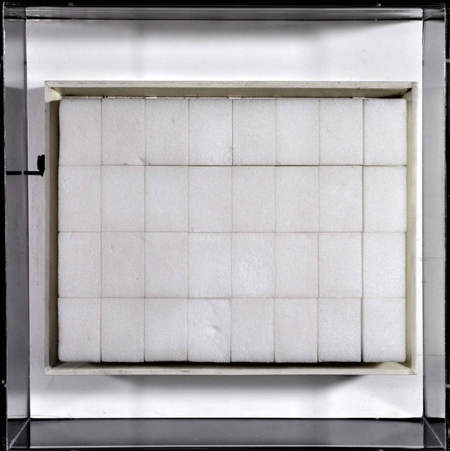 Gianni Colombo, 'Strutturazione pulsante (Pulsating structure)', Mixed Media, Polystyrene foam core and mechanical animation on wood structure, foam, rubber and metal, Robilant + Voena