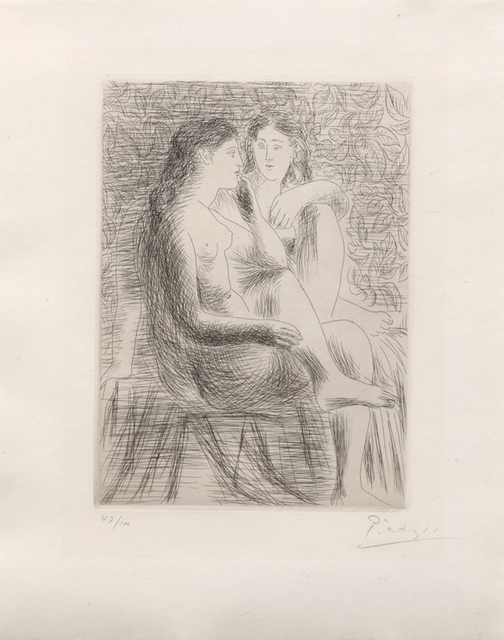 Pablo Picasso, 'Deux Nus Assis', 1930, Heather James Fine Art