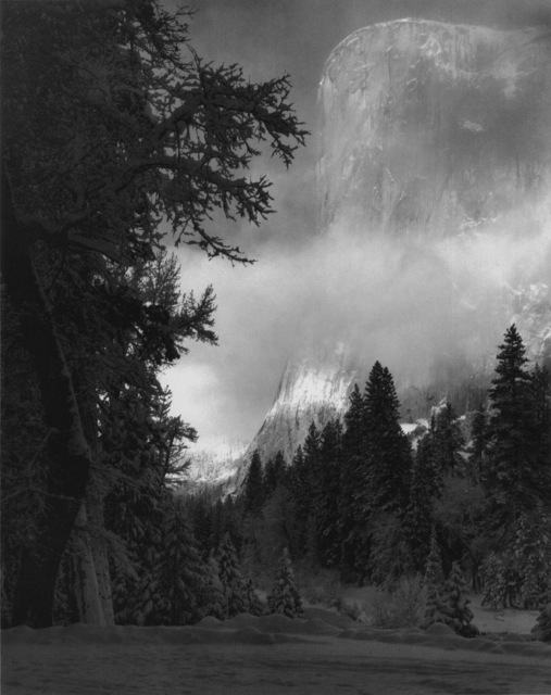 , 'El Capitan, Sunrise, Winter, Yosemite National Park, CA,' ca. 1968, Robert Mann Gallery