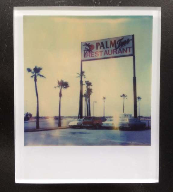 Stefanie Schneider, 'Palm Tree Restaurant (Stranger than Paradise),', 2010, Photography, Lambda digital Color Photographs based on a Polaroid. Sandwiched in between Plexiglass (thickness 0.7cm), Instantdreams