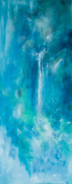 Arica Hilton, 'Cascade I', 2015, Painting, Oil, Gesso, Recycled plastic on canvas, Hilton Asmus