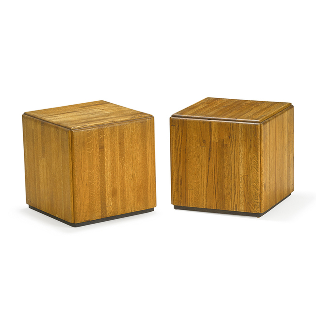 Lou Hodges, 'Pair of side tables, USA', Rago