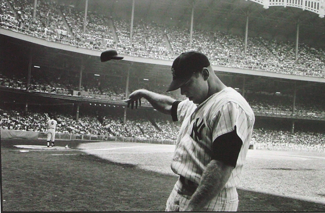 John Dominis, 'Mickey Mantle Having a Bad Day at Yankee Stadium', 1965, Contessa Gallery