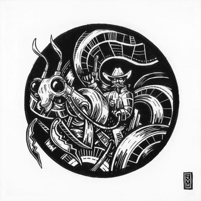 , 'Cowboy Mantis,' 2017, Helikon Gallery & Studios