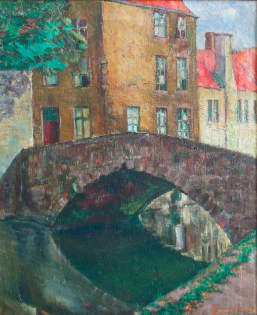 , 'Puente de Brujas,' ca. 1926, Andrés Siegel / Arte