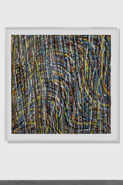 , 'Wavy Brushstrokes,' 1995, Alfonso Artiaco