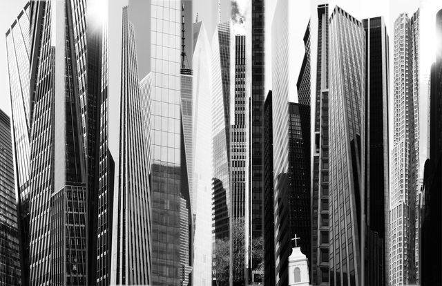 Frederick Hodder, 'Manhattan Shards', 2014, Mana Contemporary
