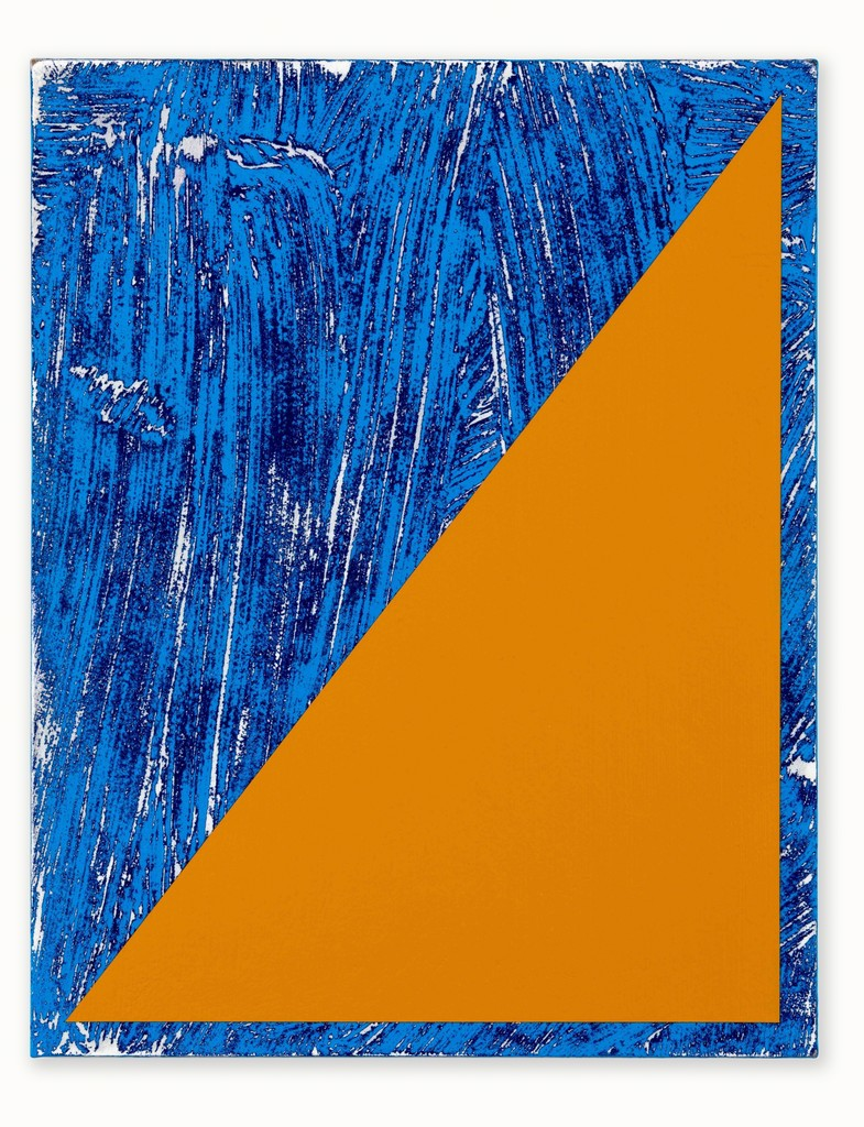 Untitled (Triangle Painting #12)