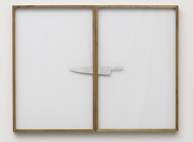"""Reginaldo Pereira, 'Através (da série """"Risca Faca"""") [Through (from the series """"Risca Faca"""")]', 2012, Casa Triângulo"""