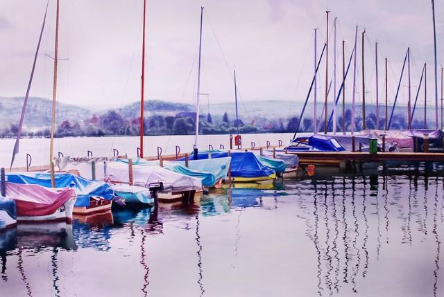 Raphaella Spence, 'Zurich Waterfront', 2017, Plus One Gallery