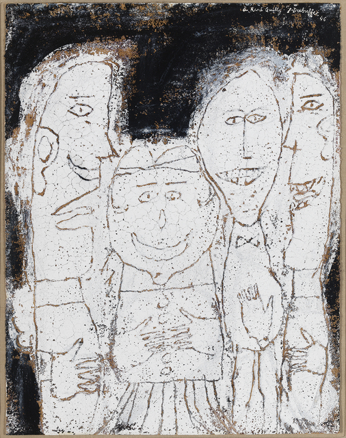 , ' Quatre personnages (Four Figures),' ca. 1946, Hammer Museum