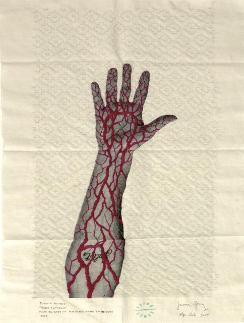 "Juana Gomez, '""Hand Pattern"", Santiago, Chile,', 2019, Michael Hoppen Gallery"
