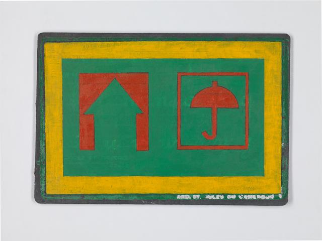", 'Untitled (part of diptych) Series: ""Suite Camerounaise"",' , Geukens & De Vil"