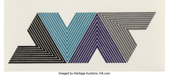Frank Stella, 'Empress of India I, from V Series', 1968, Heritage Auctions