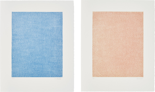 Rosemarie Trockel, 'Falling Blue, Rising Red, from Sequences', 1998, Phillips