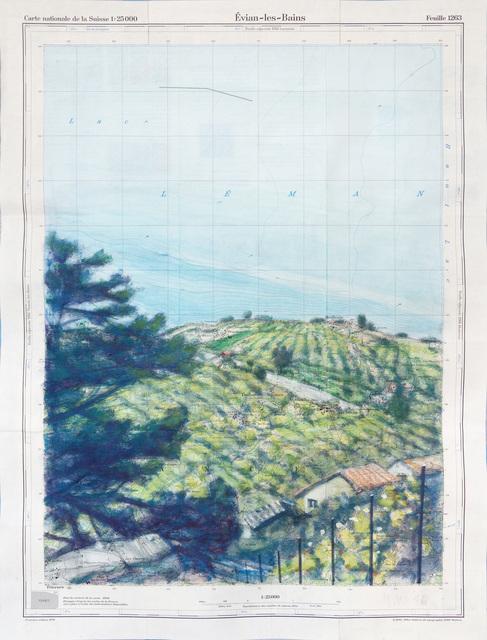, 'Evian-les-Bains,' 2016, John Martin Gallery
