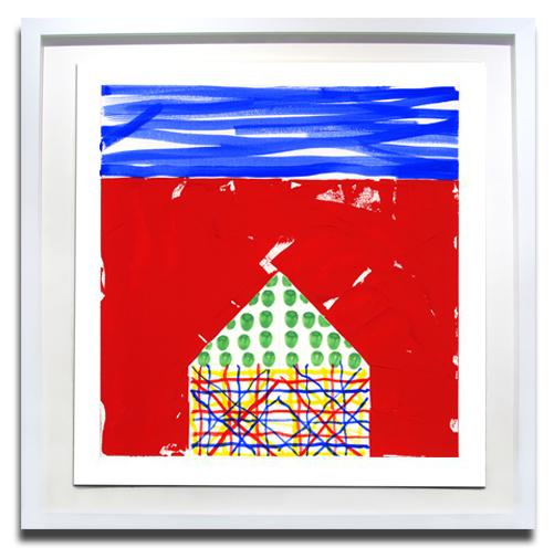 Jennifer Losch Bartlett, 'House II 5', 2015, Print, Screenprint, Soho Contemporary Art