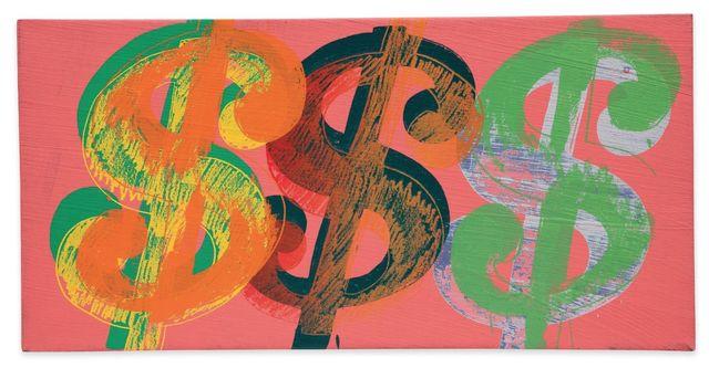Andy Warhol, 'Dollar Sign (Pink Background)', 1981, Joseph K. Levene Fine Art, Ltd.