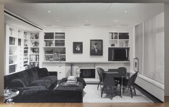 , 'Backdrop. Living room,' 2014, Galerie Rüdiger Schöttle