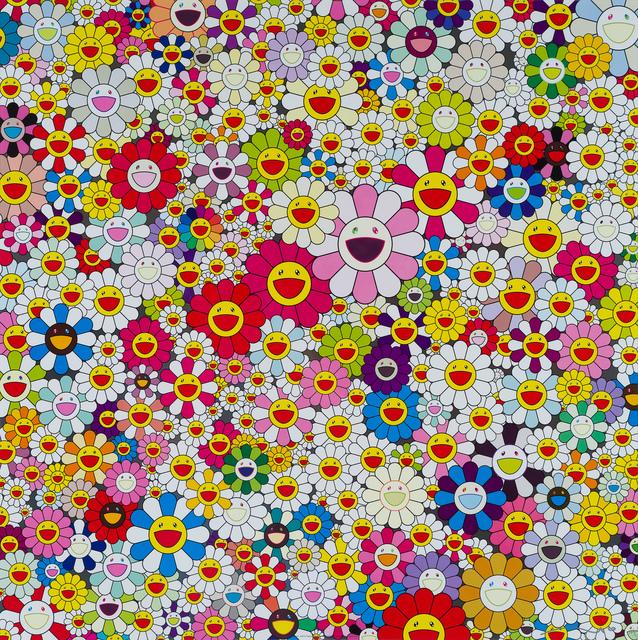 Takashi Murakami, 'Happy Face Flowers', 2010, 33 Auction