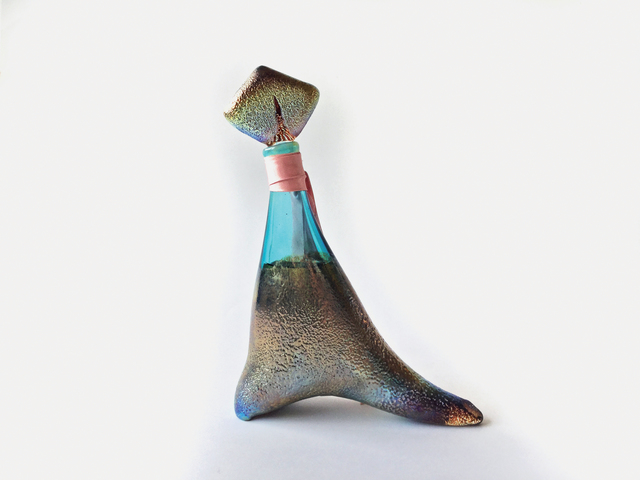Kai Althoff, 'Paden (for Parkett 75)', 2005, Sculpture, Fragrance and bottle conceived and designed by the artist, mouth blown glass with oxidation (each unique), Parkett
