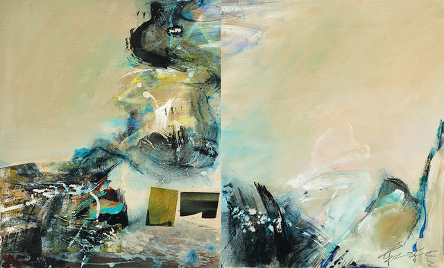 Chuang Che 莊喆, 'Abstraction', 1989, Painting, Acrylic on canvas, Asia Art Center