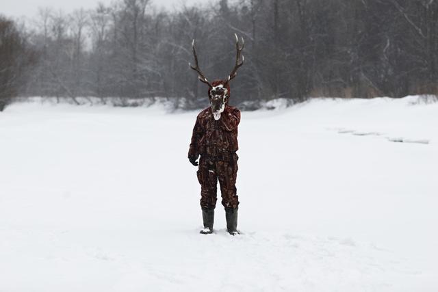 , 'Deer-man,' 2015, Galeria Freijo