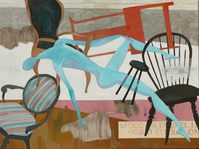 , 'Chair and Figure,' 2016, Tao Water Art Gallery