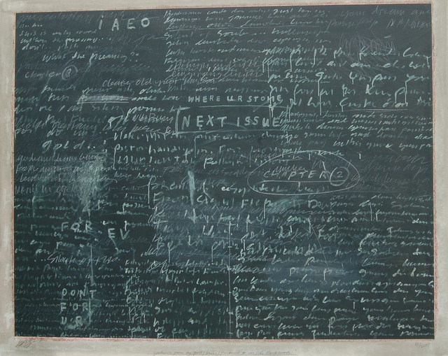 Jumaldi Alfi, 'Postcard 005 The Blackboard', 2005, iPreciation