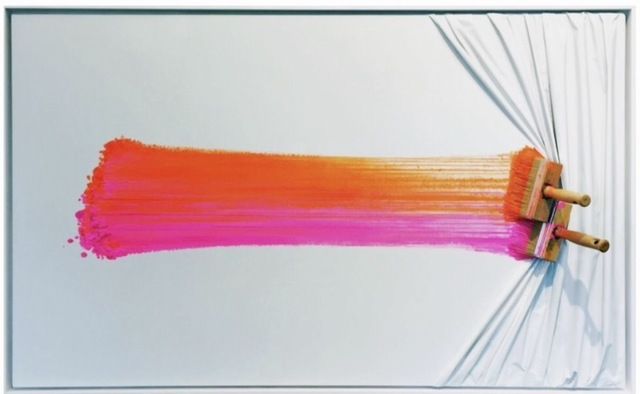 , 'Brosse arrêtée rose et orange,' , Galerie Vivendi