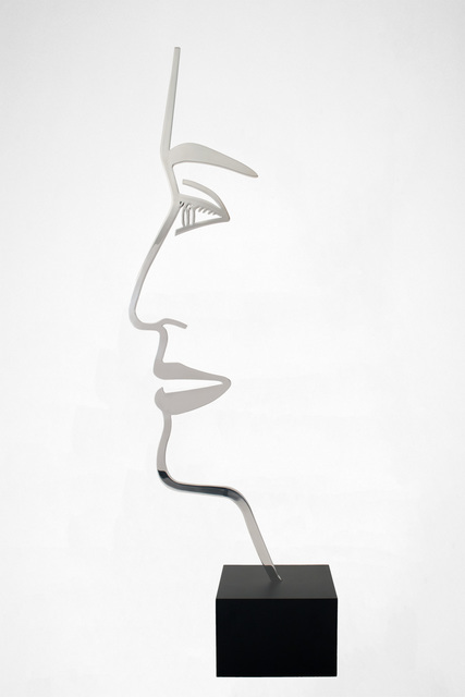 Alex Katz, 'Ada 1 (Outline)', 2017, William Shearburn Gallery