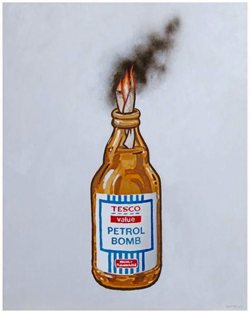 Banksy, 'Tesco Value Petrol Bomb', 2011, Hidden