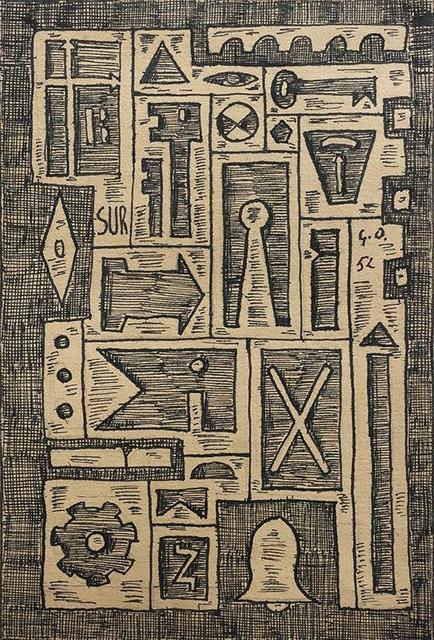 Gastón Olalde, ' Constructivo Sur', 1952, Galería de las Misiones