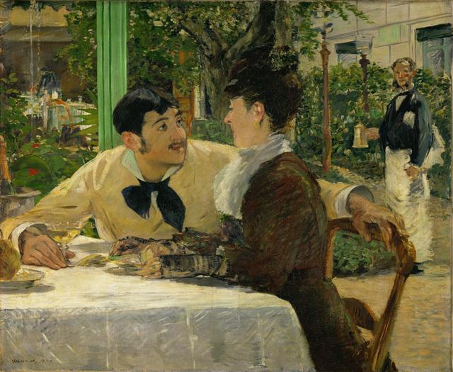Édouard Manet, 'Chez le Père Lathuille', 1879, Erich Lessing Culture and Fine Arts Archive