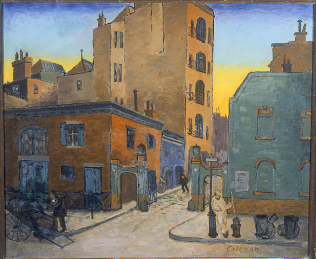 Glenn O. Coleman, 'The Mews', 1926, Phillips Collection