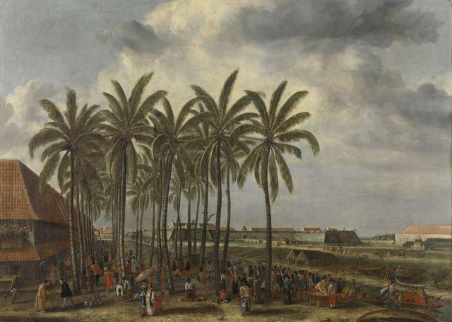 , 'The Castle of Batavia,' 1661, Rijksmuseum