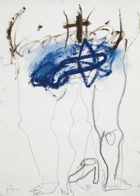 , 'Grafismes blaus,' 2010, Galerie Lelong & Co.