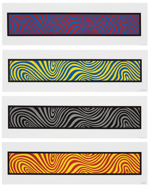 , 'Irregular Wavy Bands,' 1996, Sims Reed Gallery