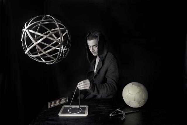 Cristina Kahlo, 'La geometría de un balón. Homenaje a Luca Pacioli', 2014, Photography, Inkjet print on cotton paper, Patricia Conde Galería