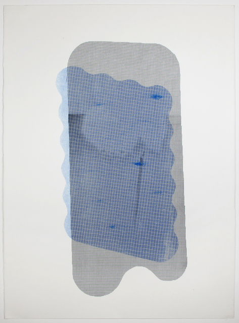 , 'Blue Patch,' 2014, Inman Gallery
