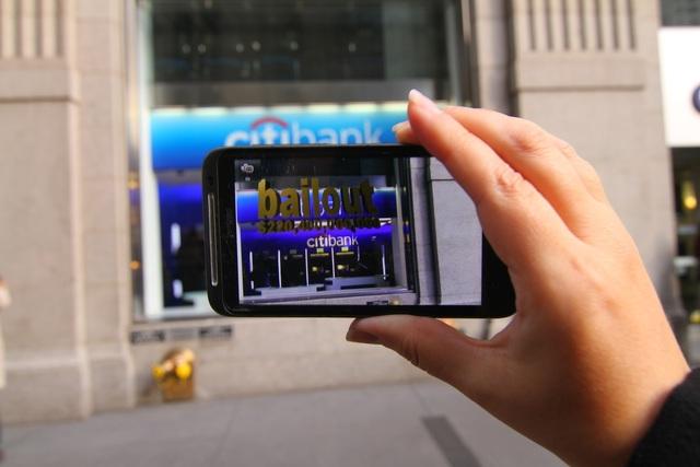 , 'Bailout Citibank,' 2011, Kasa Galeri