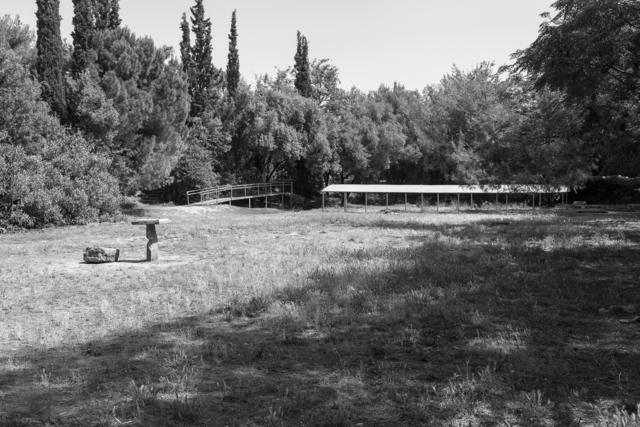 , 'Platons School, Athens (GR), 02,' 2017, DAS ESSZIMMER