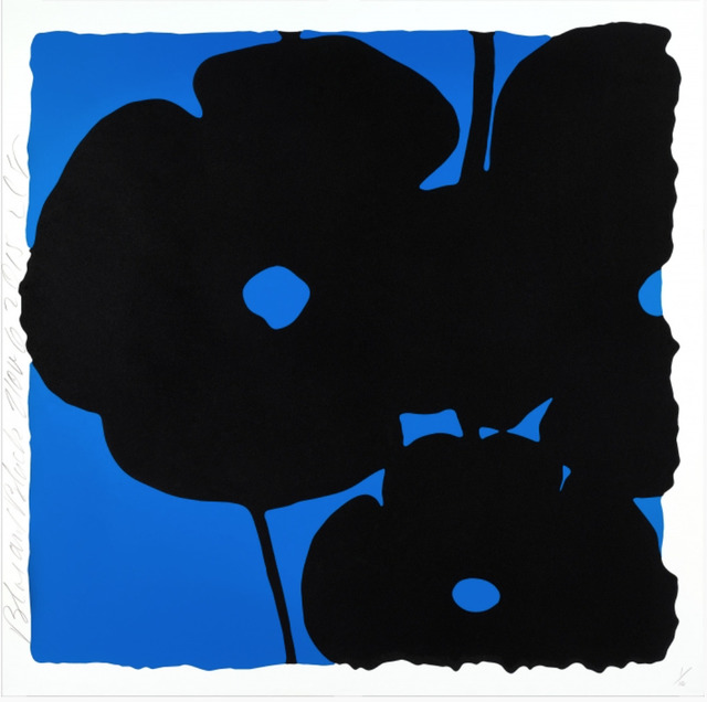 Donald Sultan, 'Blue and Black, Nov 6, 2015', 2015, New Gallery of Modern Art
