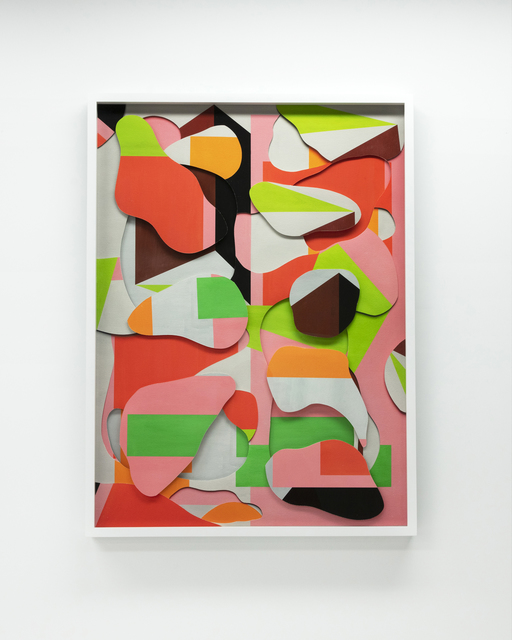 , 'Shapes and Levels Rho (Pink),' 2018, Ben Brown Fine Arts