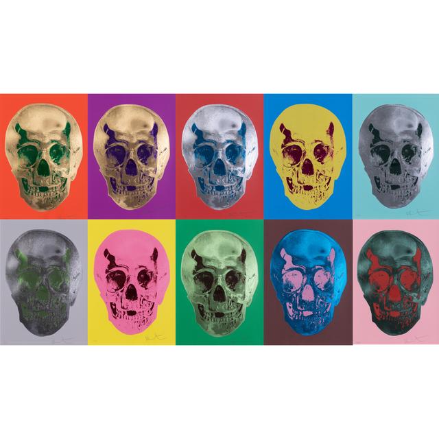 Damien Hirst, 'Till Death Do Us Part - The complete suit of 10 screeprint', 2012, PIASA