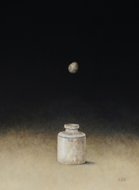 Alison Rankin, 'XH Jar with Falling Egg', 2018, Quantum Contemporary Art