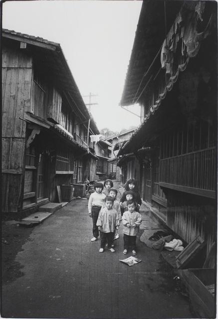 , 'Children of the Long House, Hirado, Nagasaki (Somehow Familiar Places series),' 1972, MIYAKO YOSHINAGA