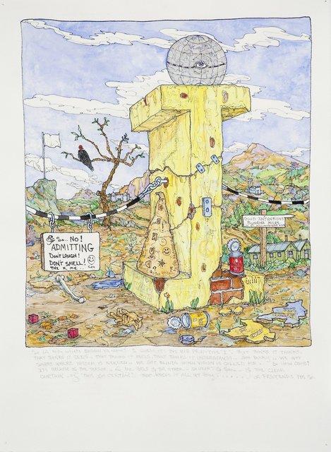 , 'Big Primitive I,' 2010, Hosfelt Gallery