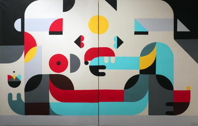 , 'Big Kiss,' 2018, Galerie Christiane Vallé